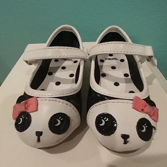 1873d152ba8a Gymboree Other - Gymboree girl's panda dress shoes